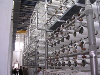 Water purification equipment.