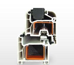 Double sliding window composed of brush seal provides a perfect seal to isolate the climatic factors