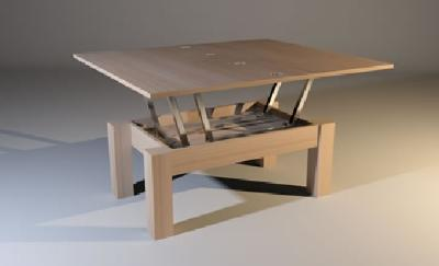 Expandable side table
