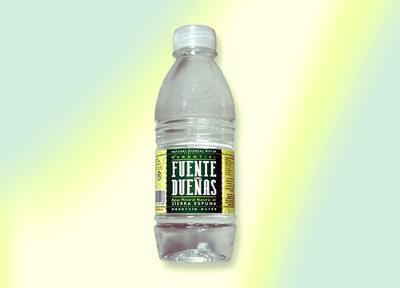 0,33 liter bottled water