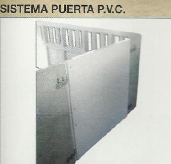 PVC door systems