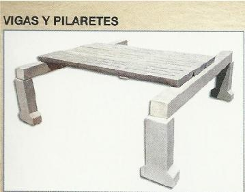 Joists and pillars