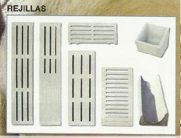 PVC grills