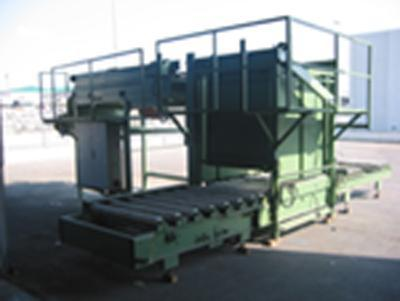 Machinery for 2nd hand Metalgráfica: depalletizers of empty containers, magnetic lifters, etc..