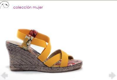 Women jute footwear