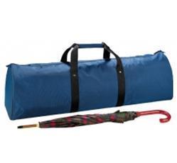 Suitcase showcase umbrella
