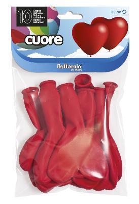 80cm perimeter Heart Latex Balloons