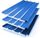 Profile sandwich panel