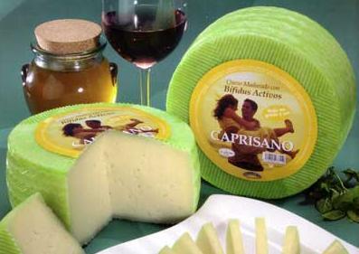 Goat cheese with active bifidus