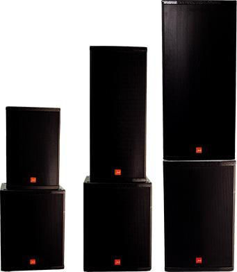 Series OF speakers specially designed for professional sound reinforcement in both small and large rooms