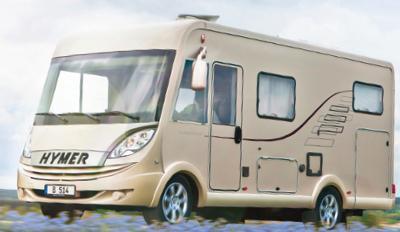 Brand new and used caravan: hymer, rapido, knaus, etc.
