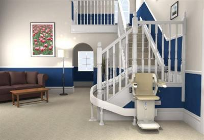 Watchtower - Curved Chair Stairlifts