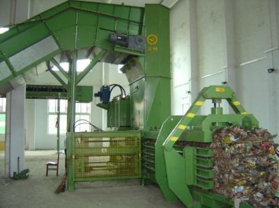 Presses for paper, paperboard or plastic.