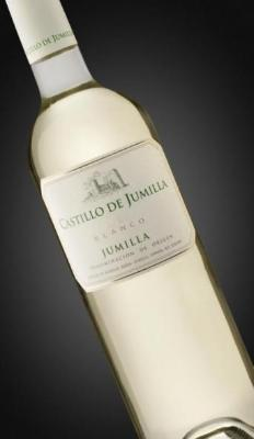 Castillo de Jumilla Young White. Varieties: Sauvignon Blanc, Macabeo and Airen