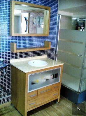 Wooden Bathroom Furnishing