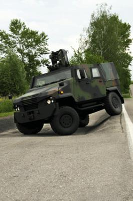 4X4 wheeled armored vehicles