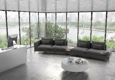 Contract modular sofa