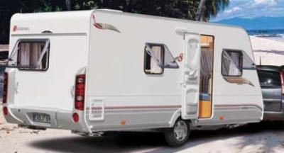 Brand new and used caravan: Hymer, Knaus and Stercheman.