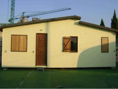 Brand new and used prefabricated houses