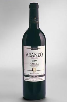 Aranzo Vintage Wine. 100% Monastrell