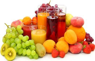 Fruit-juice of various fruits