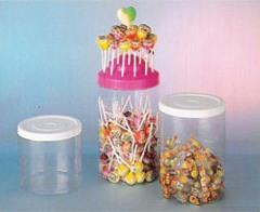 Stackable container with a lid pressure