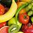 Frutas ecologicas frescas