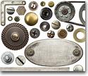 Herrajes metalicos para la industria