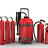 Material contra incendios (extintores)