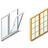 Comercialización de ventanas, persianas, mosquiteras, etc.