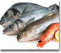 Fresh and frozen fish, mollusks and crustaceans