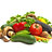 Fresh vegetables and legumes
