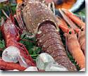 Frozen mollusks and crustaceans