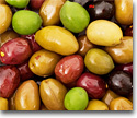 Organic olives and pickled goods