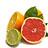 Organic citrus fruit