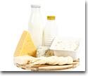 Organic dairy byproducts (cheese, yogurt)