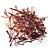 Organic paprika and saffron