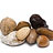 Organic nuts and dried fruits
