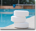Chemical pool products