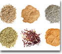 Spices, salsas and herbs