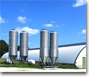 Silos, grain containers