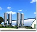 Silos, grain containers