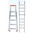 Metallic ladders for the construction industry