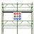 Scaffolding for the construction industry