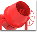 Cement mixers for the construction industry