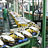 Stacking machine, hoists and conveyor belts for the leather industry