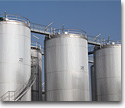 Metal containers, tanks and cisterns
