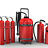 Fire-fighting materials (fire-extinguishers)