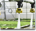 Irrigation valves for farming technology
