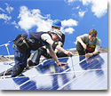 Maintenance and repair of solar panels